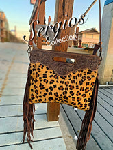 Load image into Gallery viewer, Ranch Rodeo Cheetah Tote