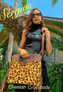 Ranch Rodeo Cheetah Tote