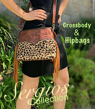 Load image into Gallery viewer, Cheetah crossbody/hipster option