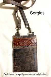 Cellphone carry hipster/ crossbody unisex