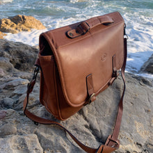 Load image into Gallery viewer, Sergios Classic Soft Italian Leather Briefcases