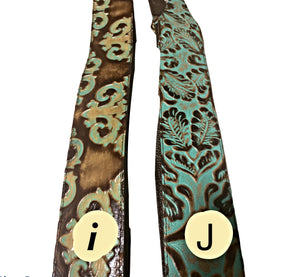 Leather purse straps