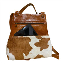 Load image into Gallery viewer, Sophisticated Cowhide Backpack