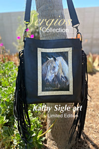 Sergios Collection featuring renowned artist Kathy Sigle limited edition