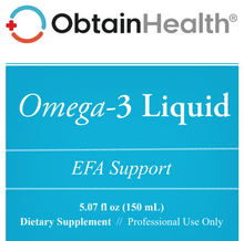 Load image into Gallery viewer, Omega-3 Liquid Fish Oil