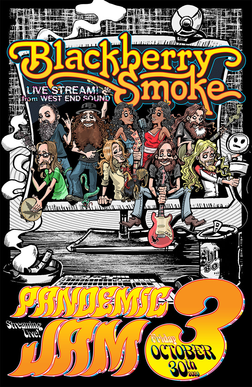 Blackberry Smoke - Pandemic Jam 3