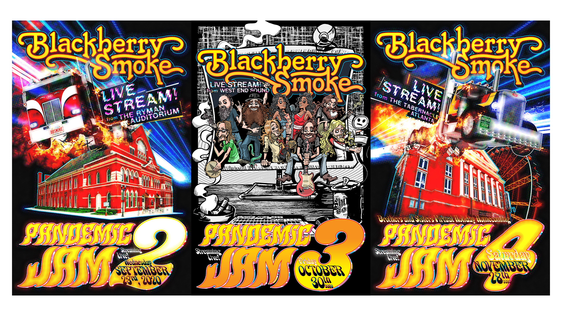 Blackberry Smoke Series Pass