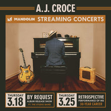 Load image into Gallery viewer, A.J. Croce Series Ticket