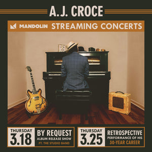 A.J. Croce Series Ticket