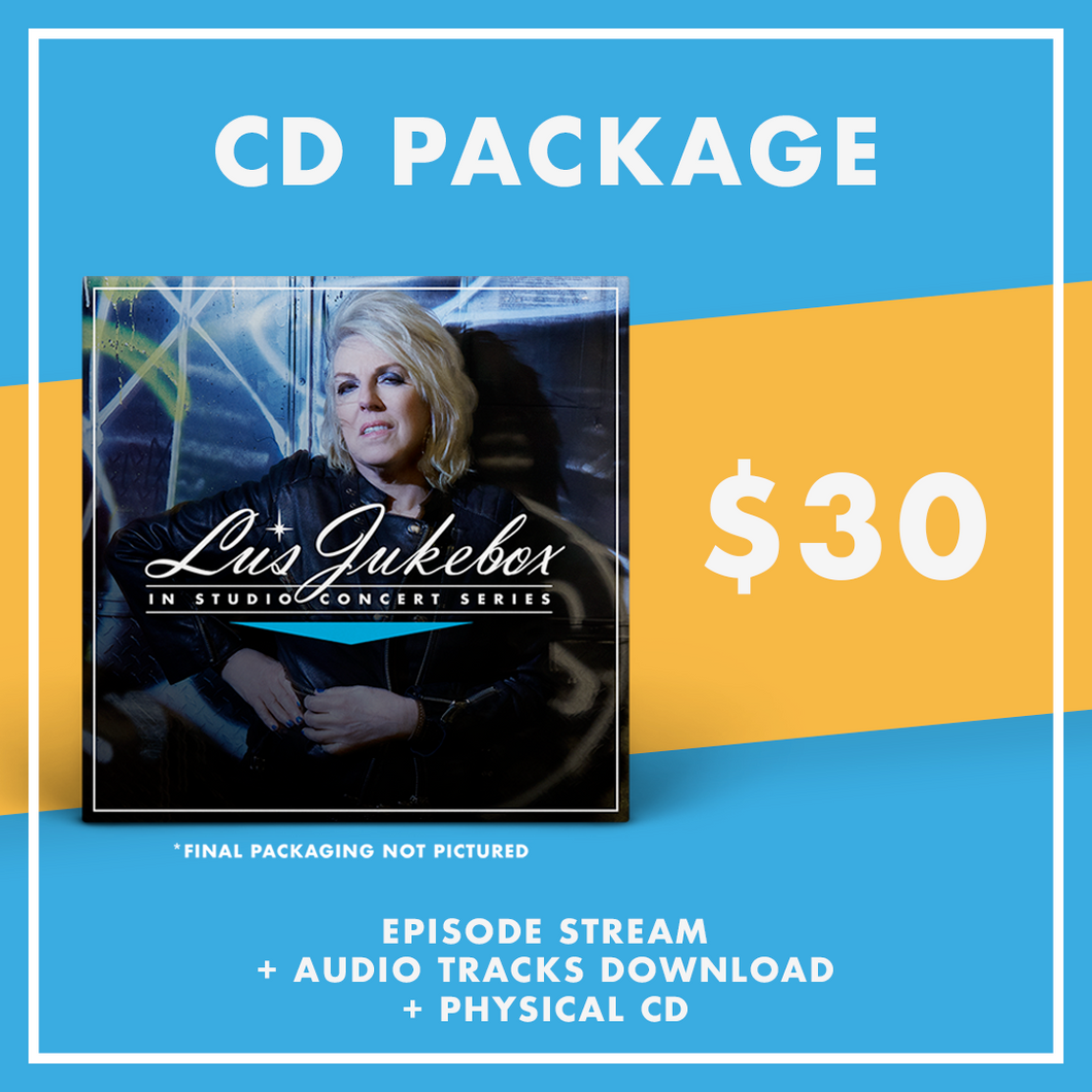 Lucinda Williams Livestream Ticket + CD - 12/31