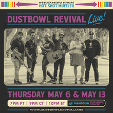 Load image into Gallery viewer, Dustbowl Revival 2-Show Pass + CD + T-Shirt