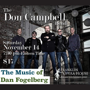 Franklin Opera House presents Don Campbell Band - The Music of Dan Fogelberg