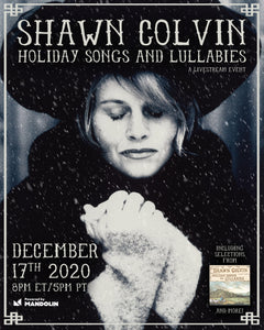 Shawn Colvin Holiday Show Meet & Greet + Livestream Ticket