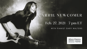 Carrie Newcomer Online Concert: 'Remembering Radiance, Acknowledging Grief, Claiming Love' - 2/27