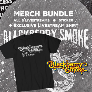 Blackberry Smoke Merchandise Bundle Series Pass