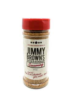 Jimmy Brown's Seasoning - Jimmy Brown Sauce & Marinade
