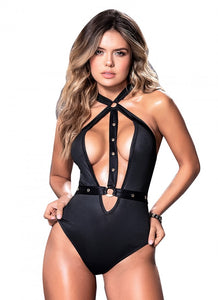 Mapale Black Bodysuit