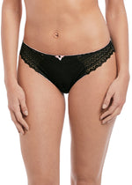Load image into Gallery viewer, Freya Daisy Lace Briefs Black
