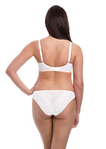 Load image into Gallery viewer, Freya Daisy Lace Briefs White