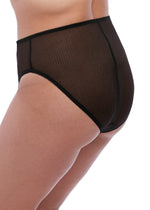 Load image into Gallery viewer, Elomi Charley High Leg Briefs Black