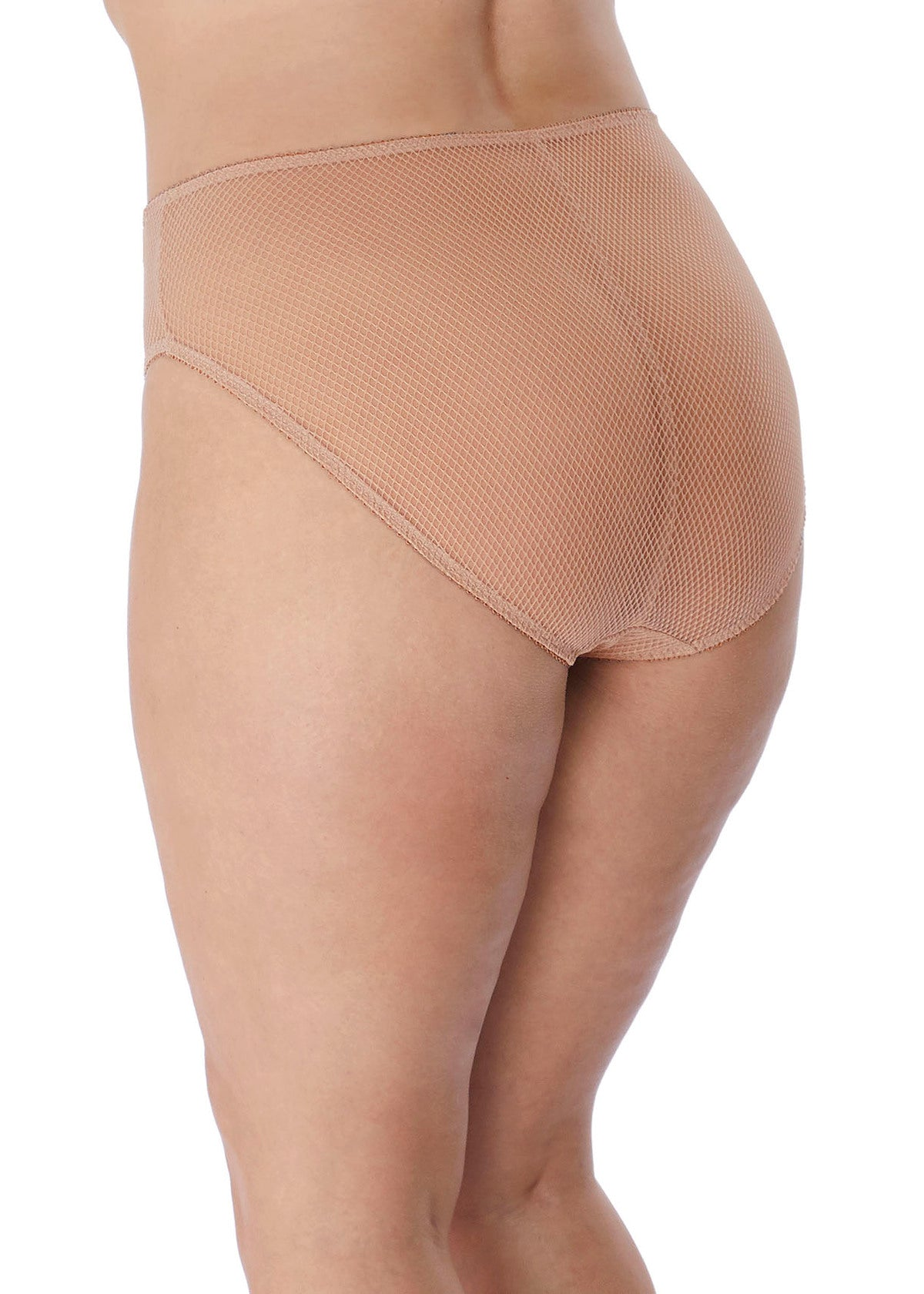 Elomi Charley High Leg Briefs Nude