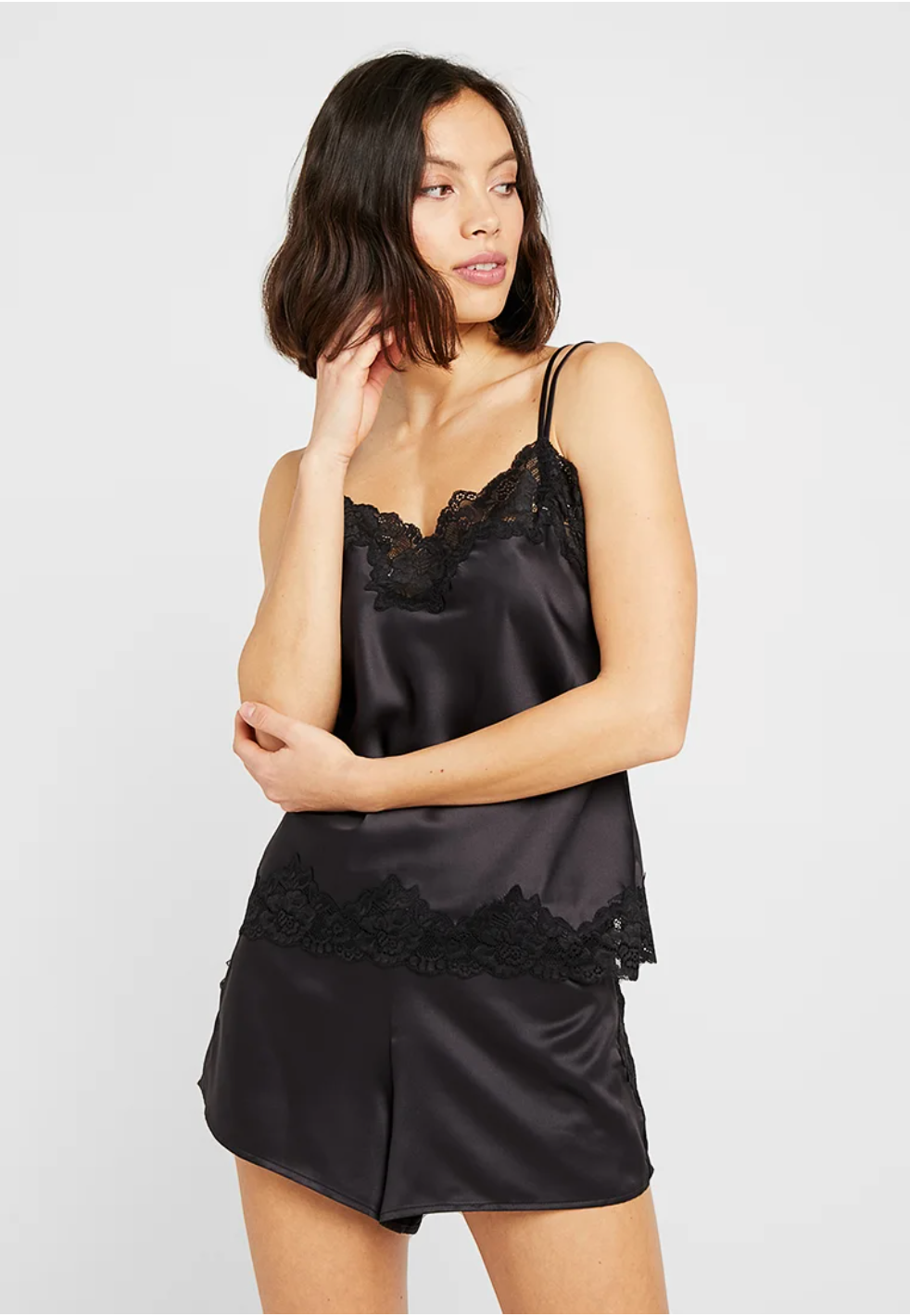 Ralph Lauren Camisole Short Set - Black