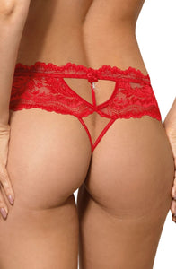 Roza Sefia Thong Red