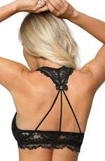 Load image into Gallery viewer, Roza Sefia Push Up Bra Black