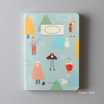 CBB Drawing Book 02 Forest Club