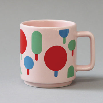 CBB Mug 09 Color Tree Pink
