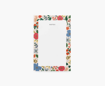 Rifle Paper Wild Rose Notepad
