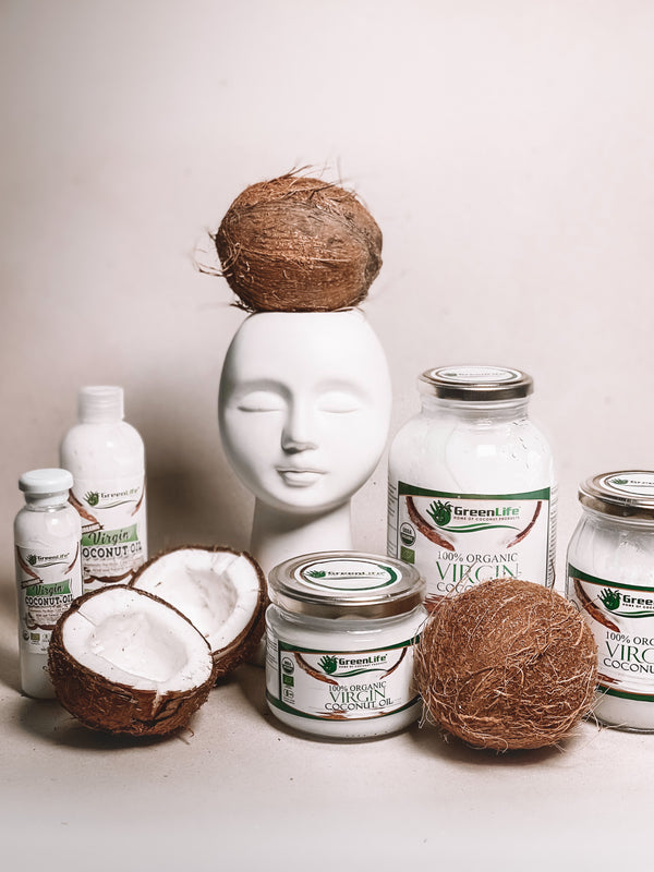 High-quality organic virgin coconut oil from the Philippines