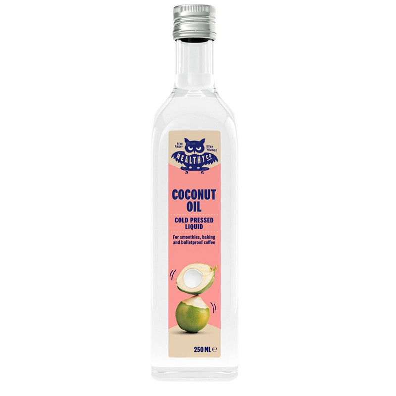 Eco Liquid Coconut Oil, coldpressed 250ml