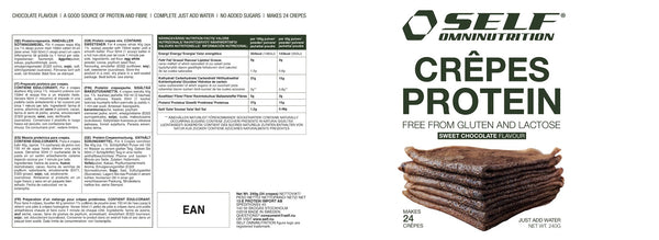 Crepes Protein - Chocolate - 240g