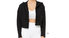 Load image into Gallery viewer, https://www.aloyoga.com/products/w4320r-cruiser-crop-jacket-black?variant=31885063192694