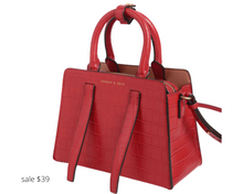 Load image into Gallery viewer, https://www.charleskeith.com/us/CK2-50270470_RED_M.html?gclid=EAIaIQobChMI3J3GmPzB6wIVxsDACh3SLwJ3EAQYBCABEgLQ2_D_BwE&gclsrc=aw.ds
