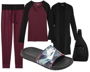 Rectangle Leisure Wear Outfit