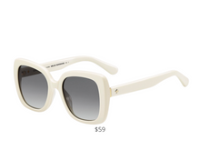 Load image into Gallery viewer, https://www.saksoff5th.com/product/kate-spade-new-york-53mm-krystal-square-sunglasses-0400010927224.html?site_refer=CSE_GGLPLA:Womens_Clothing+Accessories:Kate+Spade+New+York&country=US&currency=USD