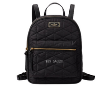 Load image into Gallery viewer, https://surprise.katespade.com/products/wilson-road-quilted-small-bradley%C2%A0backpack/WKRU4752.html?cgid=ks-handbags-backpacks-travel-bags