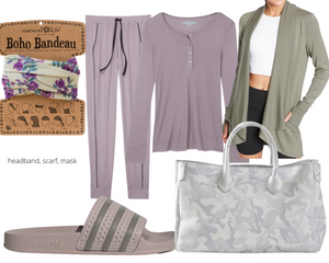 Inverted Triangle Cozy Loungewear