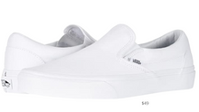 Load image into Gallery viewer, https://www.zappos.com/p/vans-classic-slip-on-core-classics-true-white-canvas/product/7226411/color/382557?utm_source=google&utm_medium=pla_g&utm_campaign=753045575&utm_term=pla-__iv_p_1_g_43490431630_c_177531666156_w_pla-282974901349_n_g_d_c_v__l__t__r__x_pla_y_15872_f_online_o_13175212_z_US_i_en_j_282974901349_s__e__h_9012028_ii__vi__&utm_content=13175212&zap_placement=&_ivgu=3d460405-c2cb-48ff-9e46-4c766b381d86