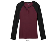 Load image into Gallery viewer, https://tommyjohn.com/collections/womens-lounge-henley/?color=winetasting-black-colorblock