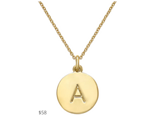 Load image into Gallery viewer, https://www.macys.com/shop/product/kate-spade-new-york-12k-gold-plated-initials-pendant-necklace-17-3-extender?ID=2231839&pla_country=US&CAGPSPN=pla&cm_mmc=Google_Jewelry_Fashion_PLA-_-PLA_Jewelry_Kate_Spade_New_York_Fashion_Jewelry-_-327456929997-_-pg1051730427_c_kclickid_f3f09b21-bfa4-4f1f-bbb7-a203780cc318_KID_EMPTY_1686789495_64531720463_327456929997_pla-834999403413_98686490895USA__c_KID_&trackingid=410x1051730427&m_sc=sem&m_sb=Google&m_tp=PLA&m_ac=Google_Jewelry_Fashion_PLA&m_ag=FashionJewelry&m_cn=PL