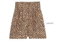 Load image into Gallery viewer, https://www.express.com/clothing/women/super-high-waisted-leopard-print-linen-blend-shorts/pro/03015302/color/Print/#reviews