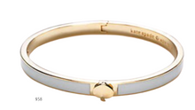 Load image into Gallery viewer, https://www.belk.com/p/kate-spade-new-york-thin-enamel-spade-bangle-bracelet-/0438633525667.html