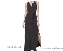 Load image into Gallery viewer, https://www.whitehouseblackmarket.com/store/product/supercomfy+maxi+dress+in+sandwashed+jersey/570288884?color=2948&catId=cat8169279