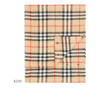 Load image into Gallery viewer, https://www.bloomingdales.com/shop/product/burberry-unisex-vintage-check-cashmere-snood?ID=3489051&pla_country=US&cm_mmc=Google-PLA-ADC-_-tROAS_FOB_Campaign-_-kids-_-5045558174051USA&gclid=CjwKCAjwq_D7BRADEiwAVMDdHqylv0_w-xRK4hS2lPjcZcBg0JAwXg4yUvyF3pCQpac8oGIL68jg7hoCAj0QAvD_BwE