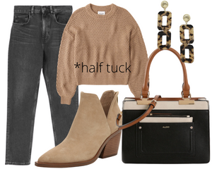 Pear Sweater & Jeans