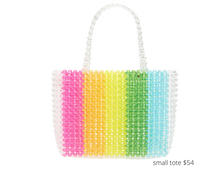 Load image into Gallery viewer, https://shop.nordstrom.com/s/bari-lynn-neon-rainbow-beaded-tote-kid/5673392?origin=coordinating-5673392-0-1-PDP_1-recbot-also_viewed_graph&recs_placement=PDP_1&recs_strategy=also_viewed_graph&recs_source=recbot&recs_page_type=product&recs_seed=5594447&color=RAINBOW