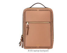 Load image into Gallery viewer, https://www.calpaktravel.com/products/kaya-laptop-backpack/caramel